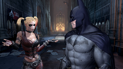 New look Harley with Batman