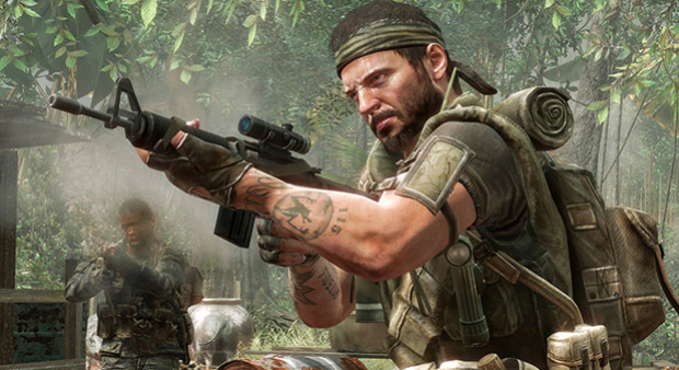 Call of Duty: Black Ops has returned to the top of the UKIE GfK Chart-Track