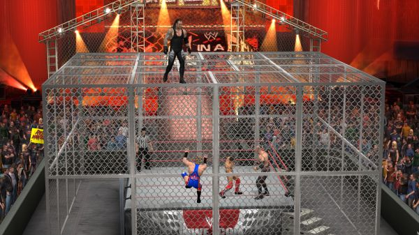 WWE Smackdown vs Raw 2011 Hell in a Cell