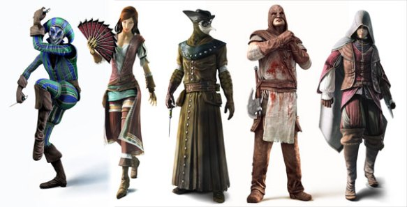 assassins-creed-brotherhood multiplayer characters