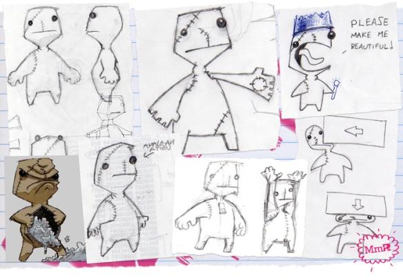 LittleBigPlanet Sackboy Concepts 1
