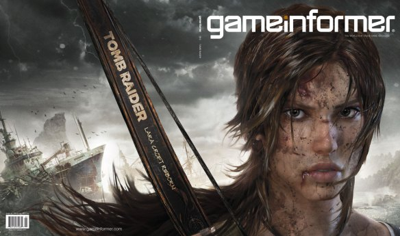 GameInformer Lara Croft