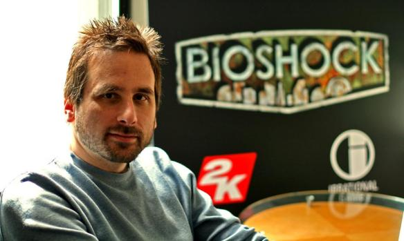 Ken Levine Train2Game blog image