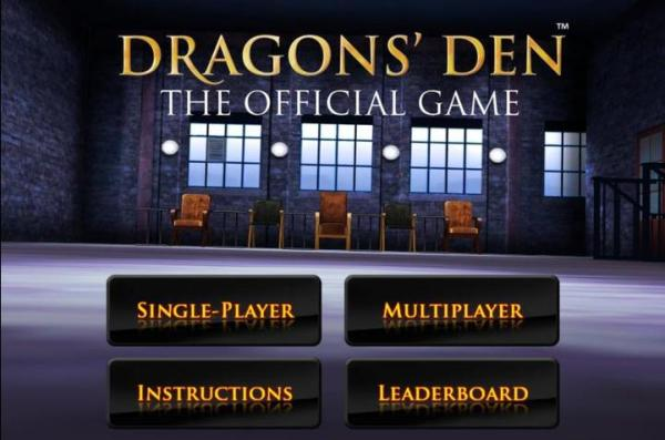Dragons' Den: The Official Game