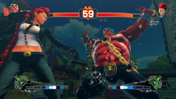 Capcom's Super Street Fighter IV