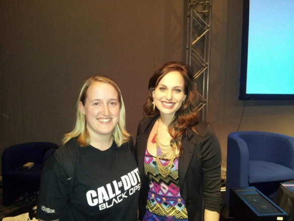 CEO of Savage Sea Studios with Megan Marie of Crystal Dynamics.