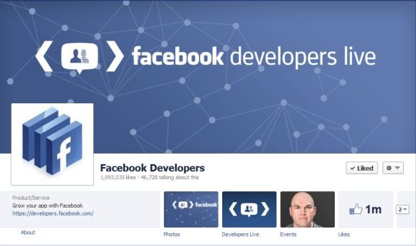Facebook Developers Live