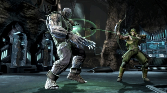 Green Arrow and Solomon Grundy