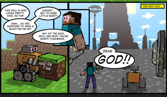 Game Mod Comic