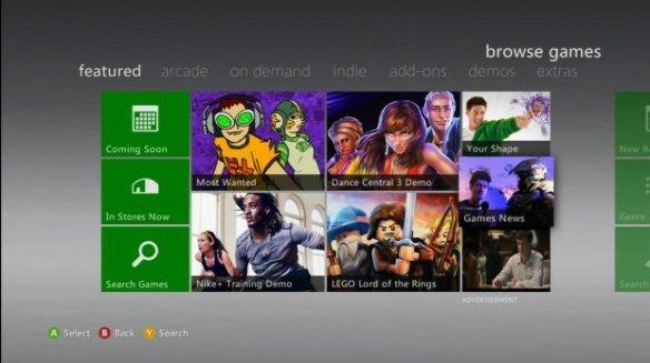 Xbox360 Dashboard