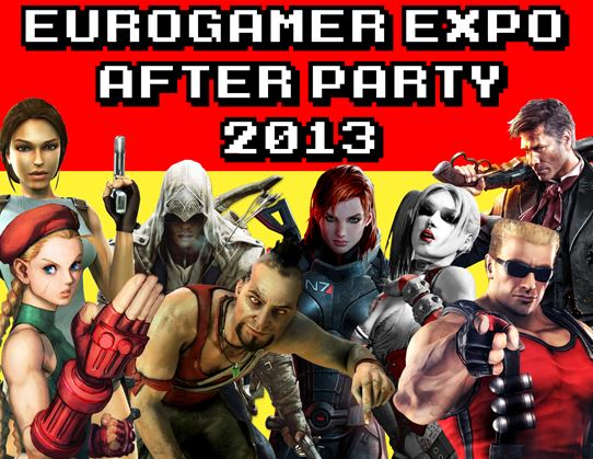 Eurogamer after party