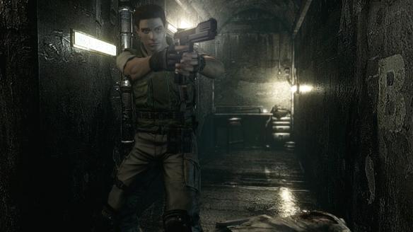 Resident Evil Chris