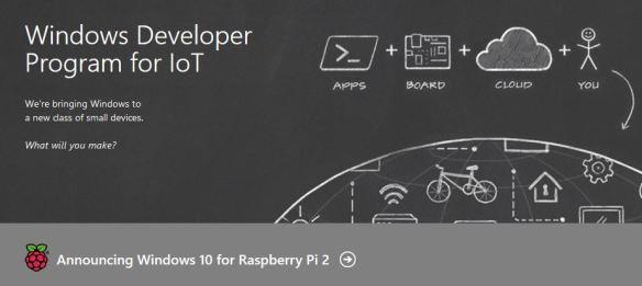 Windows 10 on Raspberry Pi 2